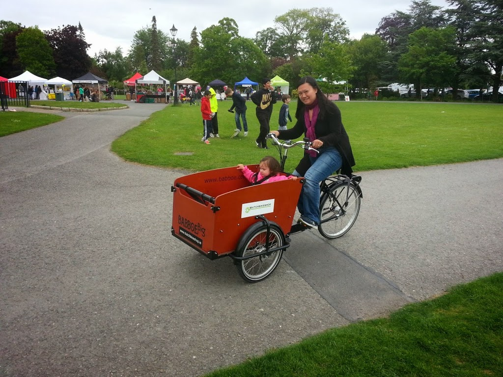 marlay park, dublin, things to do with kids in Dublin, dutch bikes, bakfiets