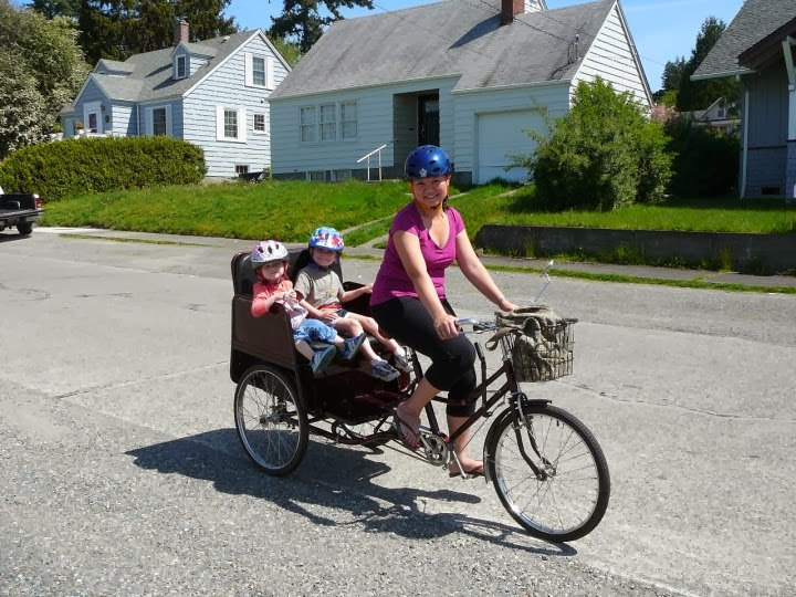 pedicab, things to do with kids seattle, things to do with kids dublin