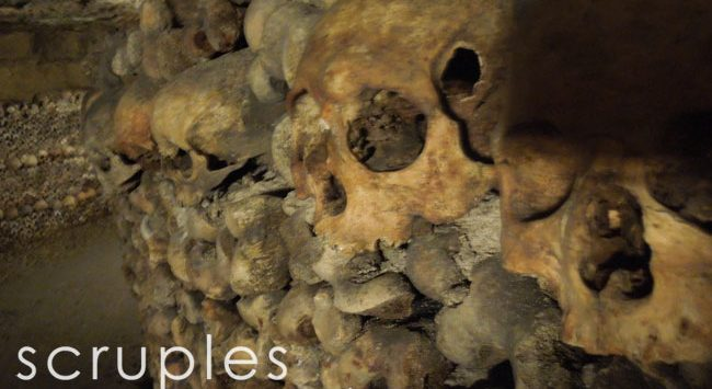 Paris with Kids: des Catacombes de Paris