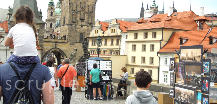 Prague with Kids – Part 1: Charles Bridge and Petřín Hill