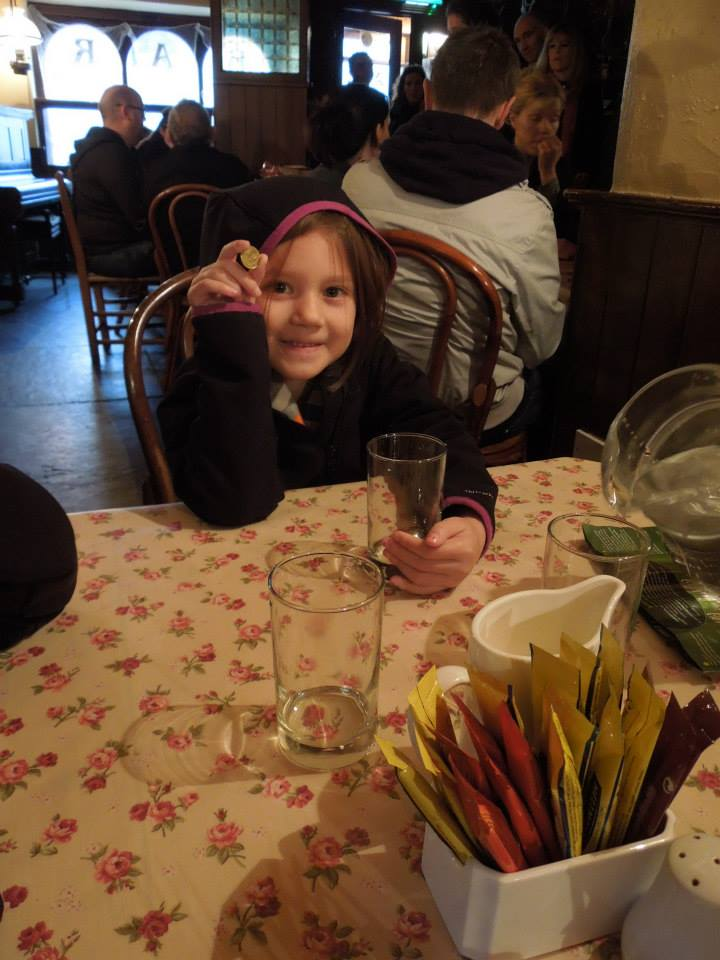 Lunch at Bunratty Castle
