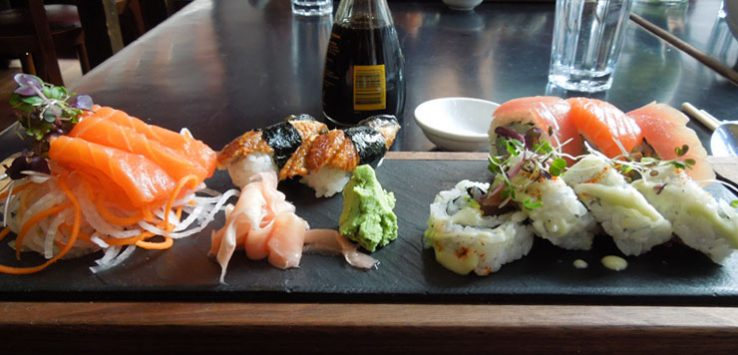 Lunch with my brother at Ukiyo Bar
