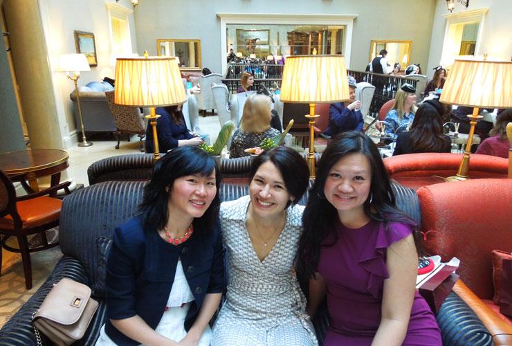 Afternoon Tea at the Westin Hotel ~ Dublin, Ireland