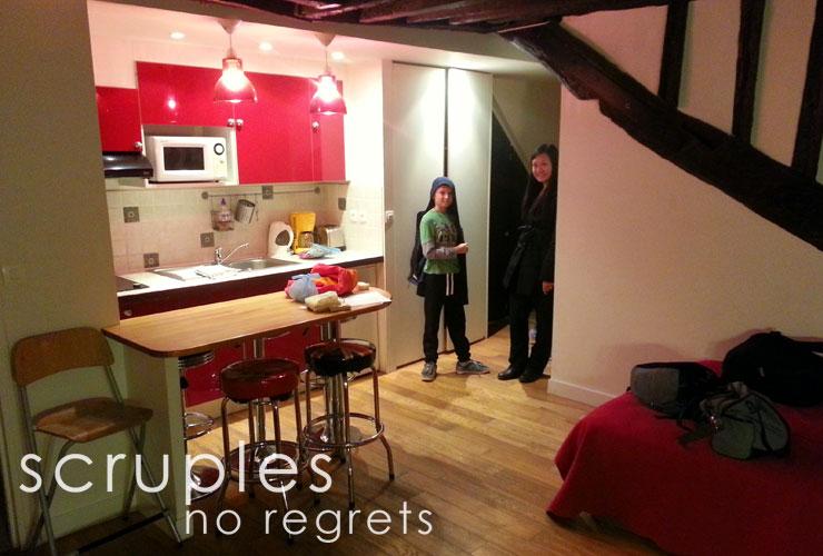 Scruples - Paris flat